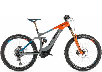 Велосипед Cube STEREO HYBRID 160 Action Team 500 KIOX 27.5 (2019)