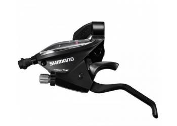 Переключатель SHIMANO TOURNEY ASTEF510RV7AL шифт+торм.ручка (2 пальца) 7ск. чёрн. 2-8126