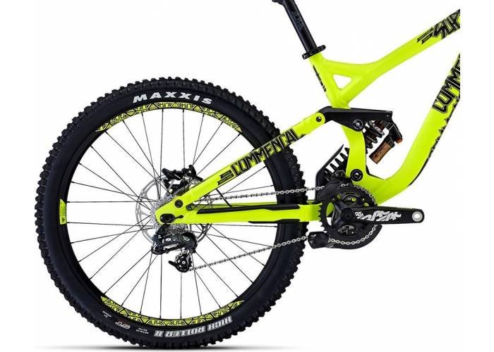 Велосипед Commencal Supreme DH ORIGIN 650b (2015) 2