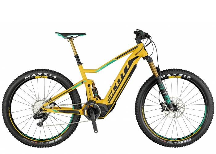 Велосипед SCOTT E-SPARK 700 PLUS TUNED BIKE (2017)
